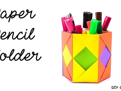 How to Make an Origami Vase, Pen Holder and Gift Box (3 Models in ... | 300x400
