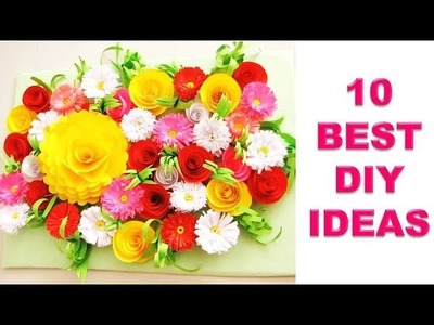 10 Amazing !!! Wall Hanging Idea || DIY Room Decor 2019 !!! JULIA DATTA