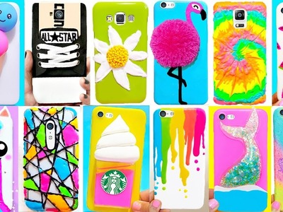 15 DIY Phone Cases (Summer-inspired) | Easy & Cute Phone Projects