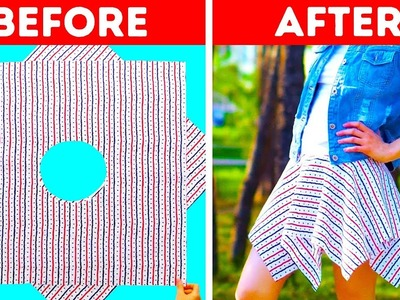 20 DIY CLOTHING IDEAS FOR BEGINNERS