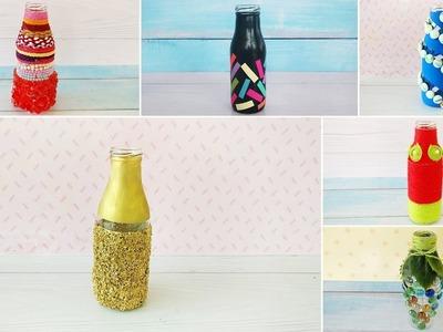 6 Gorgeous and Elegant DIY Bottle Decor Ideas | Best DIY Video | 1 Minute Crafts