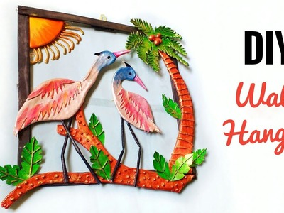Antique Wall Hanging | Best Out Of Waste | DIY | Unique Wall Hanging | Creative Craft |Punekar Sneha