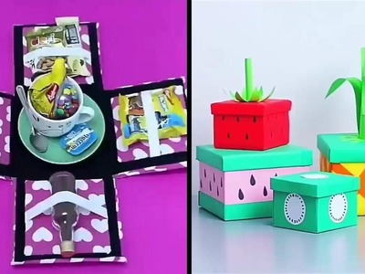 Best Gift Box Ideas 2019 | DIY Gift Boxes, Decorative Boxes