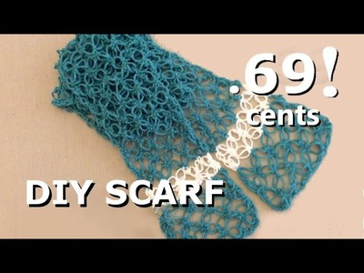 Chicago Salvation Army: $1 DIY scarf !