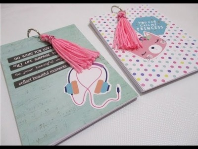 DIY : #236 Notebook - Perfect Gift For Friends ❤