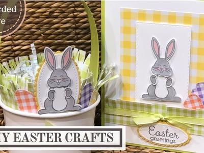 DIY Easter Crafts (Basket and Handmade Card)