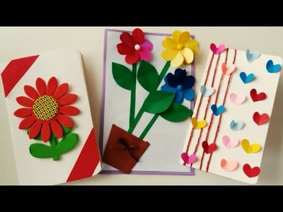 ☆DIY Easy and Simple Greeting Cards Out of Waste Material| Handmade Greeting Cards