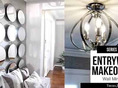 DIY Entryway Makeover - Wall Mirror | Episode 3