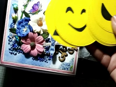 DIY Gift. Box of Joy for Best Friend. Boy Friend