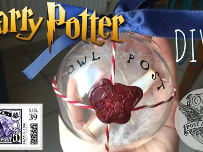 DIY Harry Potter.  Owl Post Bobble
