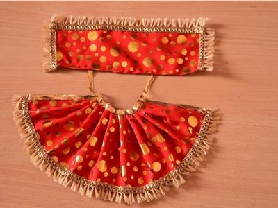 DIY   How to make Lehenga Chunri for Mata   Rani # Navratri Special