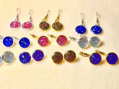 DIY Jewelry Making Kits #Cabochons #DIY Beebeecraft.com