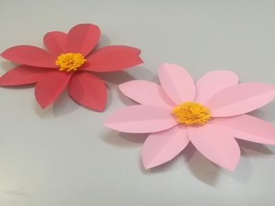 Diy paper flowers   Easy paper flowers   Paper flower making