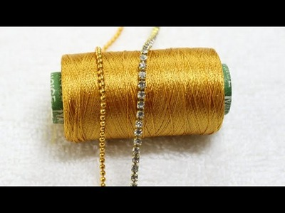 DIY Silk Thread Bracelet by MISS. ARTOFY