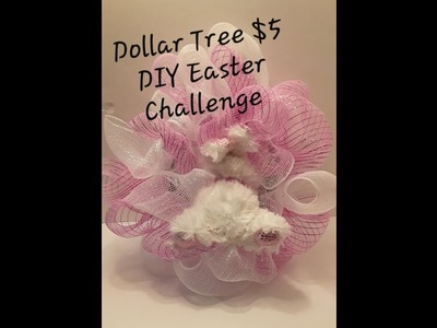 Dollar Tree $5 DIY Easter 2019 Challenge with Bum Bea and a work in progress