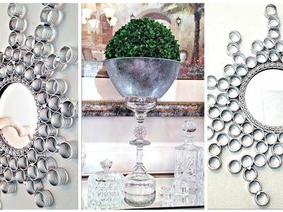 Dollar Tree DIY Mirror and Centerpiece | Mirror Decor Ideas