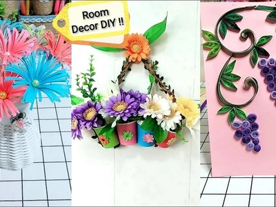 Easy hanging flower DIY crafts ideas   Room decoration DIY crafts 5 minutes   Wall hanging origami