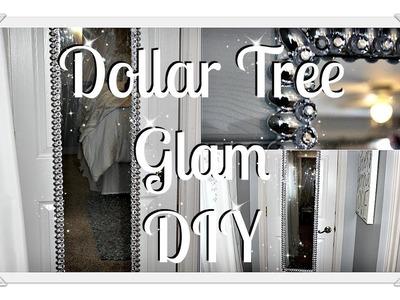 Glam DIY Floor Mirror|| Over The Door Mirror Glam DIY