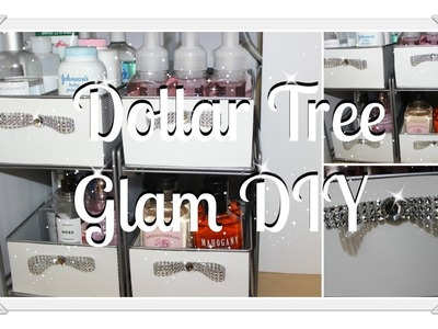 Glam DIY Under The Sink Organizer