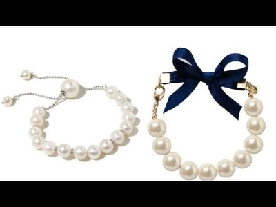 How to make pearl bracelet |BRACELET making | DIY SHIVANI |