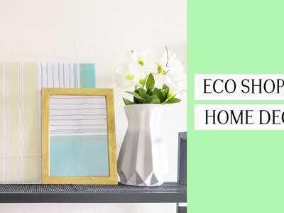 (MUST WATCH) ECO SHOP RM2 D.I.Y - HOME DECOR ITEMS