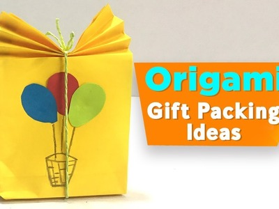 Origami | Gift Packing Ideas | DIY Paper Crafts For Kids | Easy Paper Crafts Ideas | Do Craft