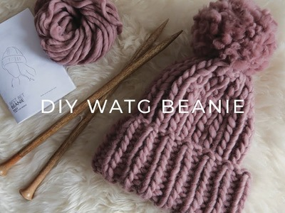 Review of Wool and the Gang Beanie and DIY Pom Pom