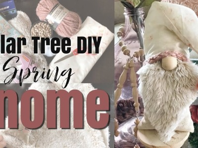 Scandinavian Gnome From Dollar Tree DIY. Spring Gnome