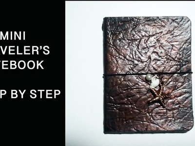 Step by Step Mini TN | DIY Mini Traveler's Notebook