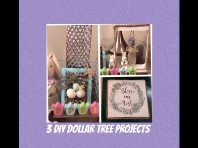 3 Dollar Tree DIY Spring Farmhouse Home Decor Projects Creating Elegance For Less 2019