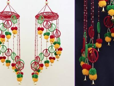 Amazing Woolen Wall Hanging || DIY Room Decor || Handmade Wall Hanging
