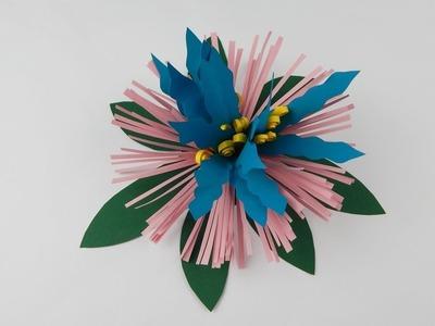 Dekoration flower DIY papercraft Deko Blume