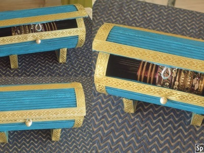DIY Bangle Box |Best Out Of Waste Idea. . | parul pawar