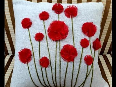 DIY Designer Cushion Cover. Home Decor. ഡിസൈനർ  കുഷ്യൻ കവർ നിങ്ങൾക്കുമുണ്ടാക്കാം .