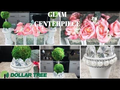 DIY DOLLAR TREE | GLAM TOPIARY HOME DECOR