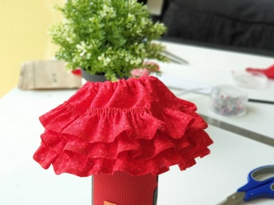 DIY- How to make Baby Bloomer.Diaper cover with ruffles (template included)