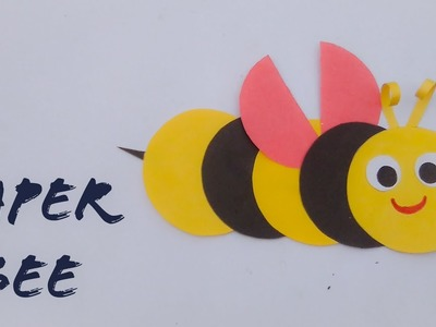 Easy Paper Bee | Origami Paper Bee | Paper Crafts For Kids | The Best Crafts