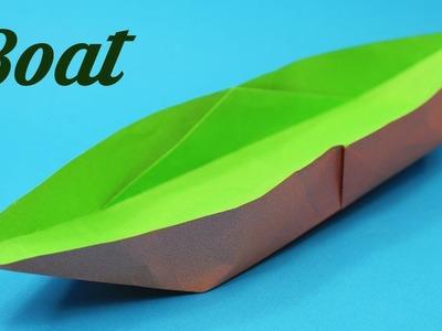 Easy Paper Boat, Easy Origami for Kids, Basic origami, Simple Origami for Beginners, Paper Origami