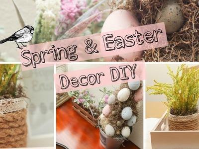 Farmhouse Spring Decor Ideas | Spring & Easter DIY's