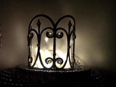 Glam Plug Table Lamp Dollar Tree DIY