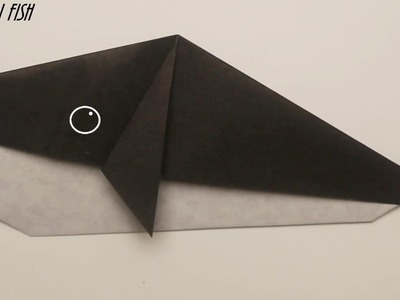 How to make a whale out of paper  Origami fish