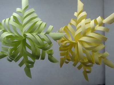 """""""""""""""Origami Wall Flower"""""""""""" How to Create Origami Wall Flower with Paper."""