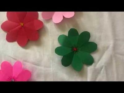 Paper Craft - Flower -  Crafts for Kids