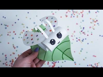 Polka Dot Bug (Construction Paper Crafts for Kids, Day 5)