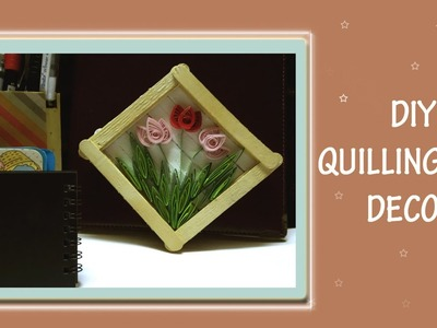 Quilling Art Decor | No Tools Required | DIY For Beginners ||
