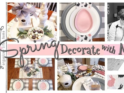 Spring Decorate With Me. DIY Mommy's Spring Decor & DIY Challenge