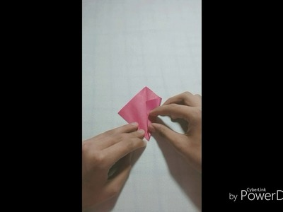 The most easy 6 petal origami flower | Clster Paper Flower