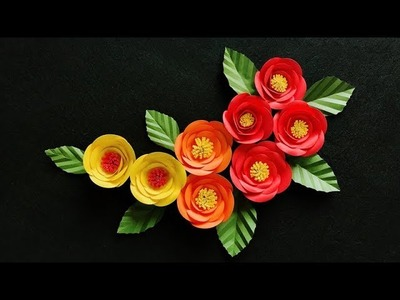 ABC TV | How To Make Backdrop Paper Flower #1 | Flower Die Cuts - Craft Tutorial