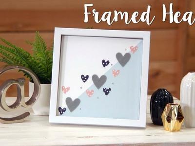 Big Shot Foldaway - How to Make Framed Hearts!