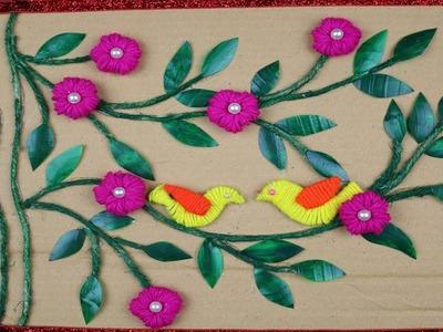 Cardboard Crafts Ideas - How to Make Diwali Special Showpiece For Home Decor - Reuse ideas -DIY arts